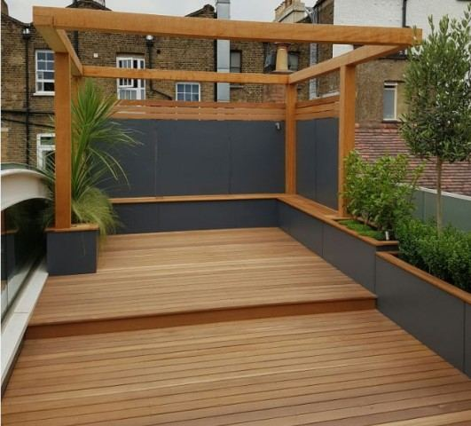 Southgate timber hardwood decking cedar cladding oak for Smooth hardwood decking boards