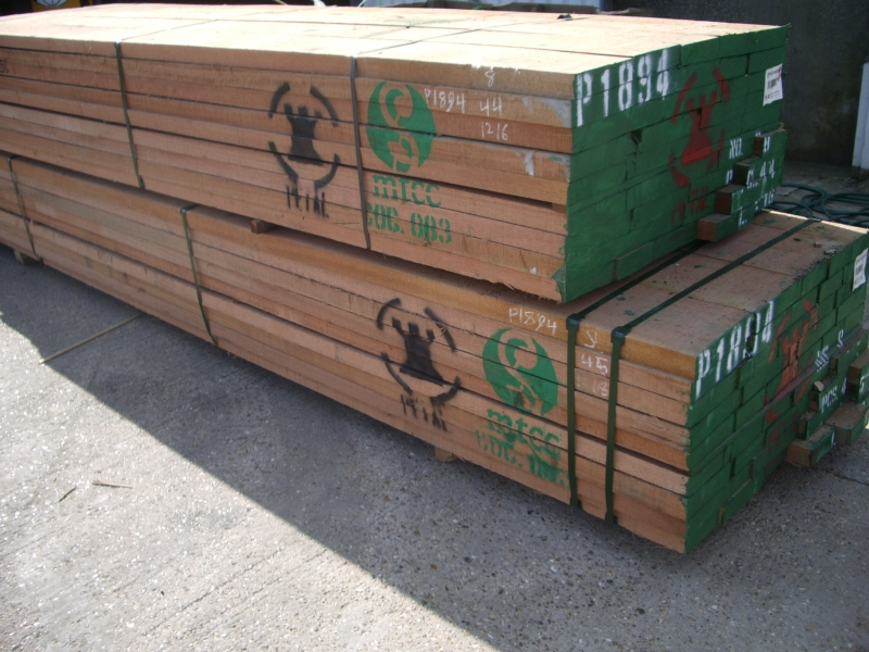Sawn Far Eastern Hardwood 'Meranti' MTCC certificated