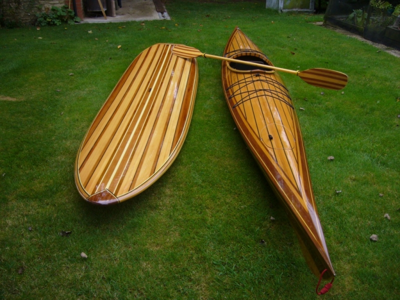 Cedar Kayak & Surf Board made from our P.A.R. stock products