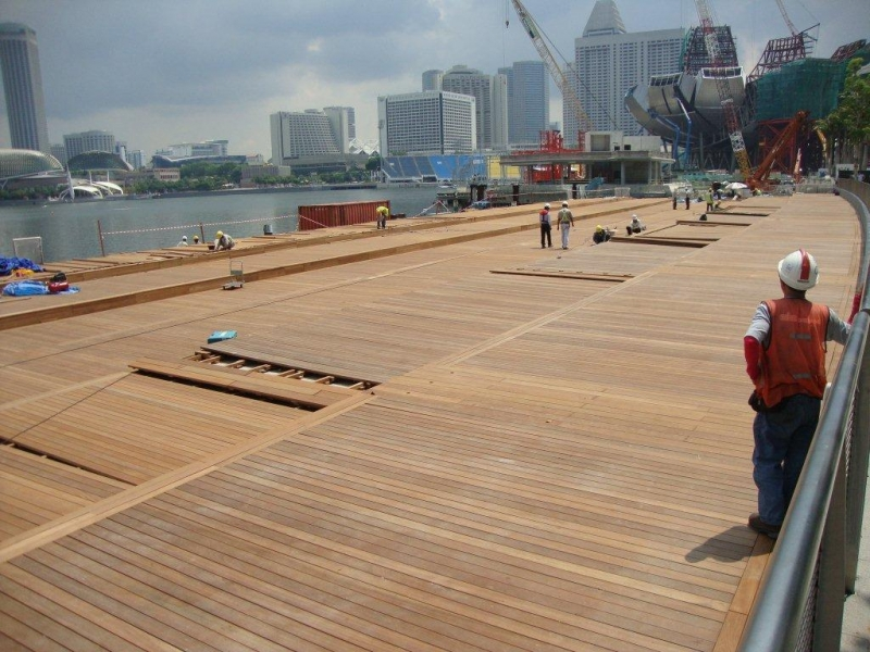 Yellow Balau Hardwood Decking