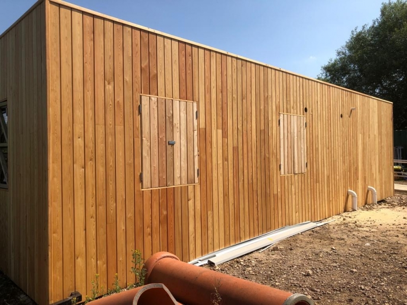 Siberian Larch Cladding