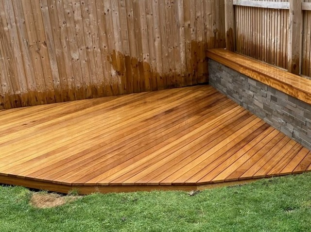 Iroko 20 x 90mm Smooth Double