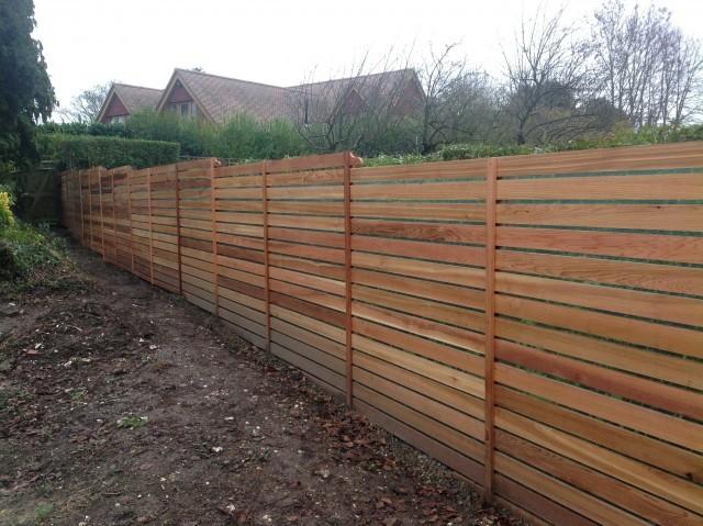 Western Red Cedar P.A.R. 20 x 95mm P.A.R. Fencing