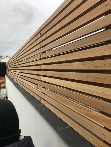 Western Red Cedar 20 x 45mm P.A.R. Fencing