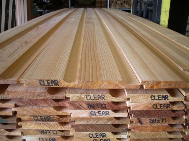 Western Red Cedar 18 x 144mm Shiplap ST7