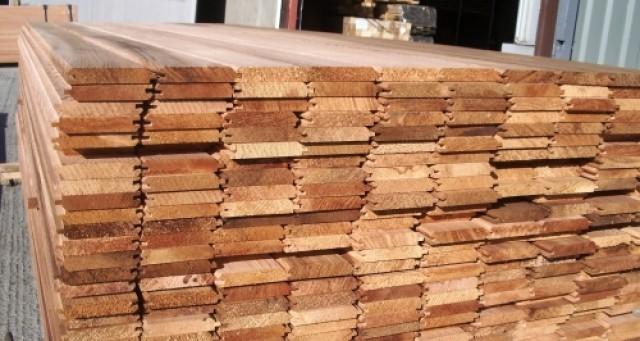 Western Red Cedar T G V St0 50 Off 0 91m 1 22m 1 52m