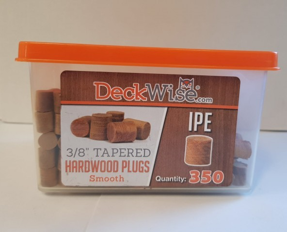 Deckwise Ipe Plugs 350no.