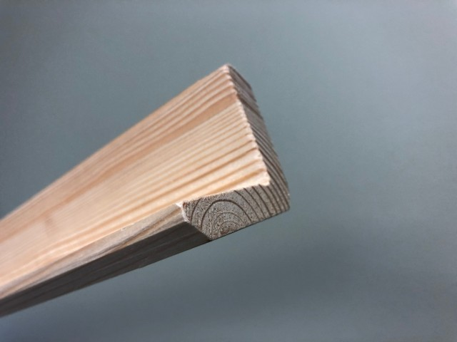 Siberian Larch 45 x 45mm L Section