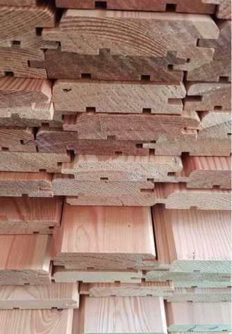 Siberian Larch 20 x 95mm T.G.V. Cladding ST0.L
