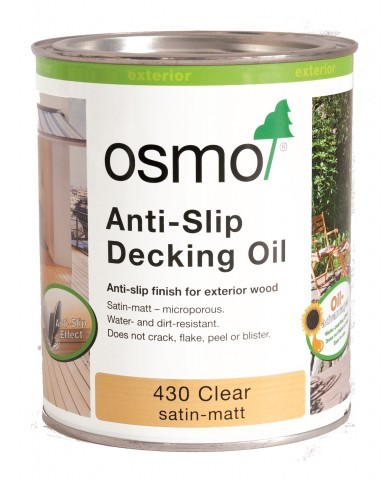 Osmo 430 Clear Anti-Slip Decking Oil