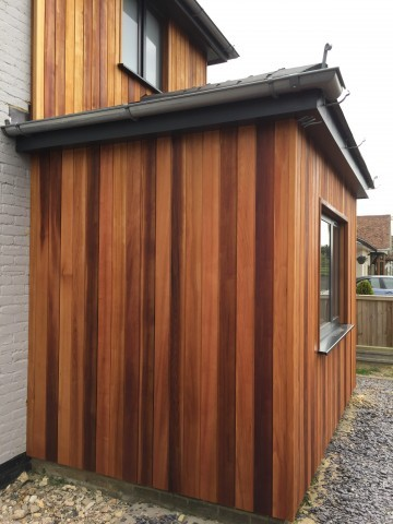 Western Red Cedar 18 x 144mm Channel Groove ST6