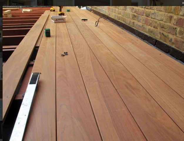 IPE 21 x 145mm Smooth 2 sides - Grooved for hidden fix - 1st Grade