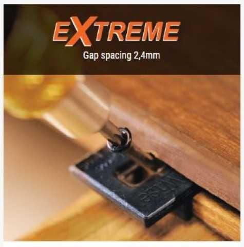 Deckwise Extreme hidden Decking Fixings - 2.4mm Gap