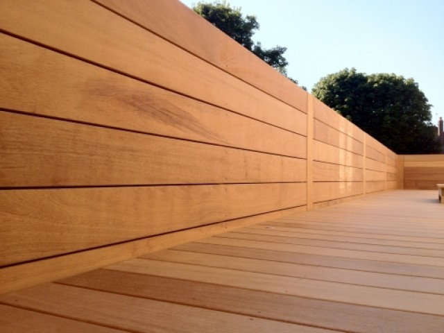 Iroko 20 x 140mm smooth double southgate timber for Smooth hardwood decking boards