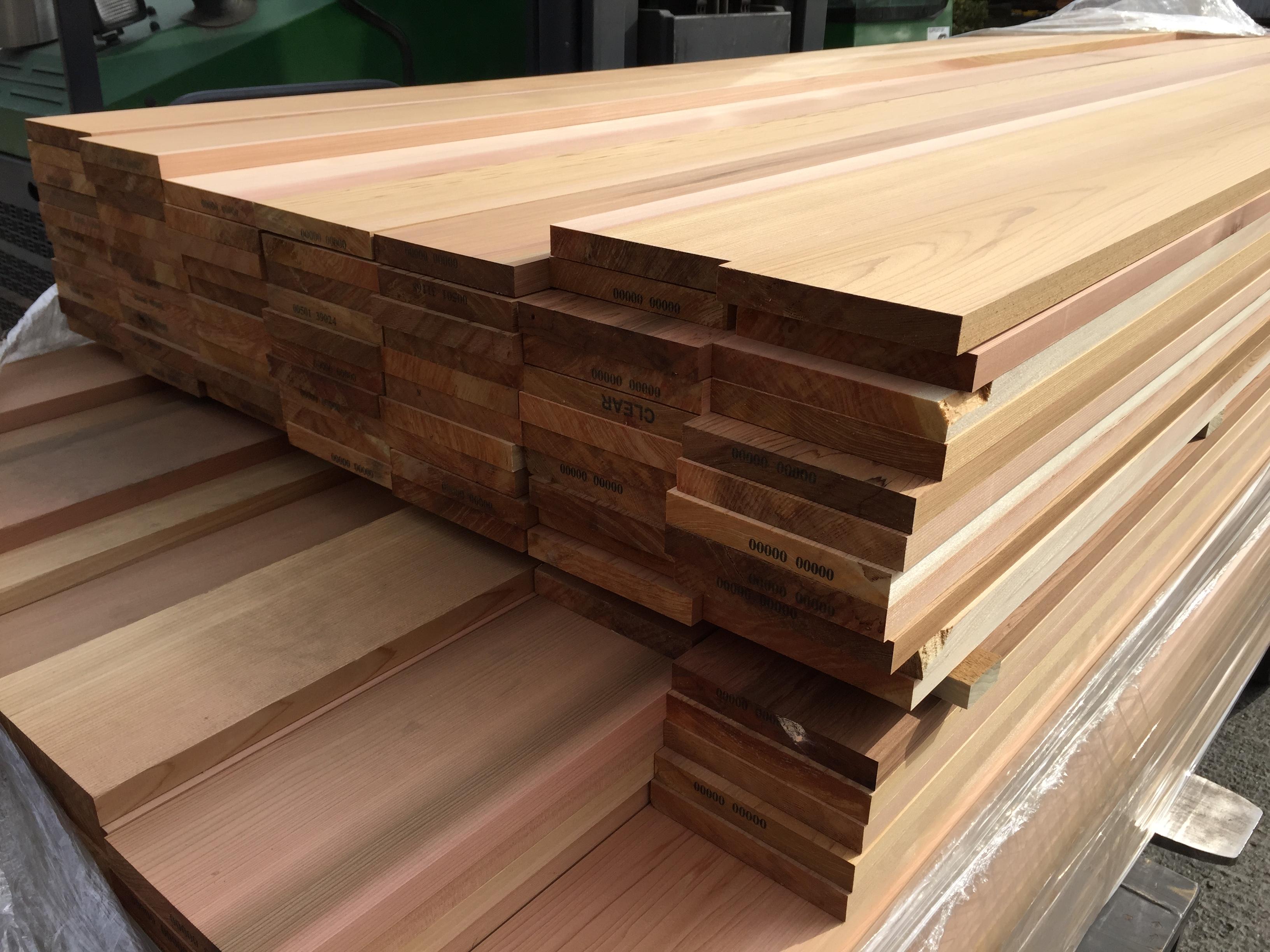 Western Red Cedar P A R  20 x 190mm P A R  Fencing/Fascia