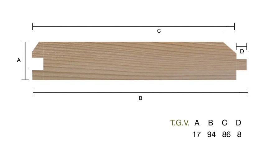 Western red cedar t g v st0 southgate timber hardwood for Bathroom t g cladding