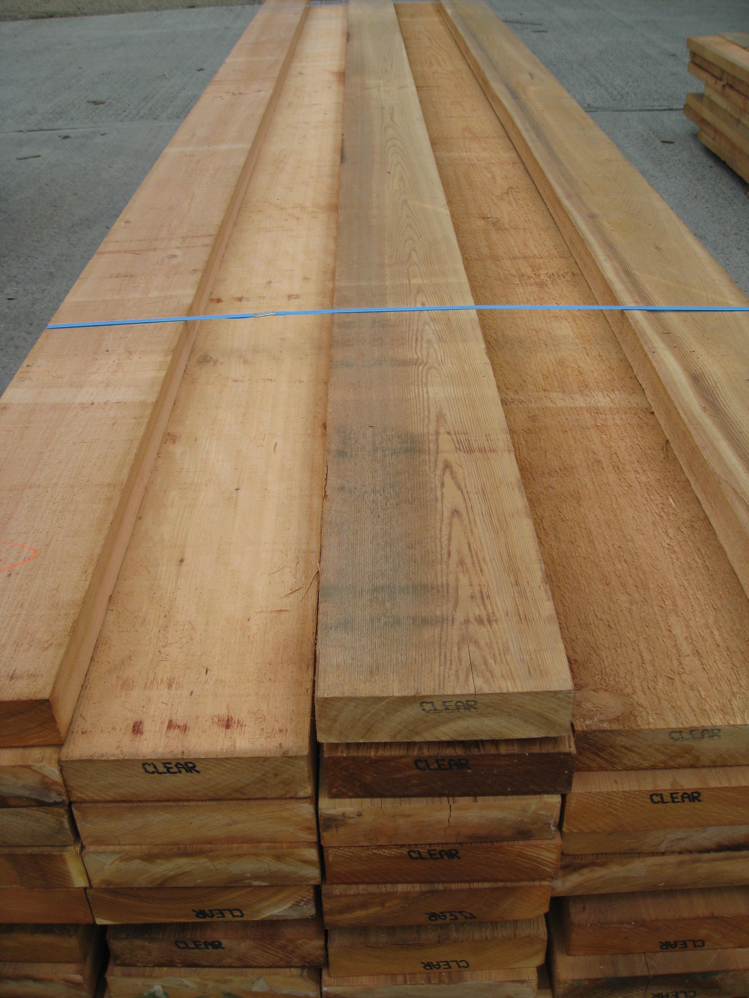 Western Red Cedar Sawn Cedar Fencing Supplier Southgate