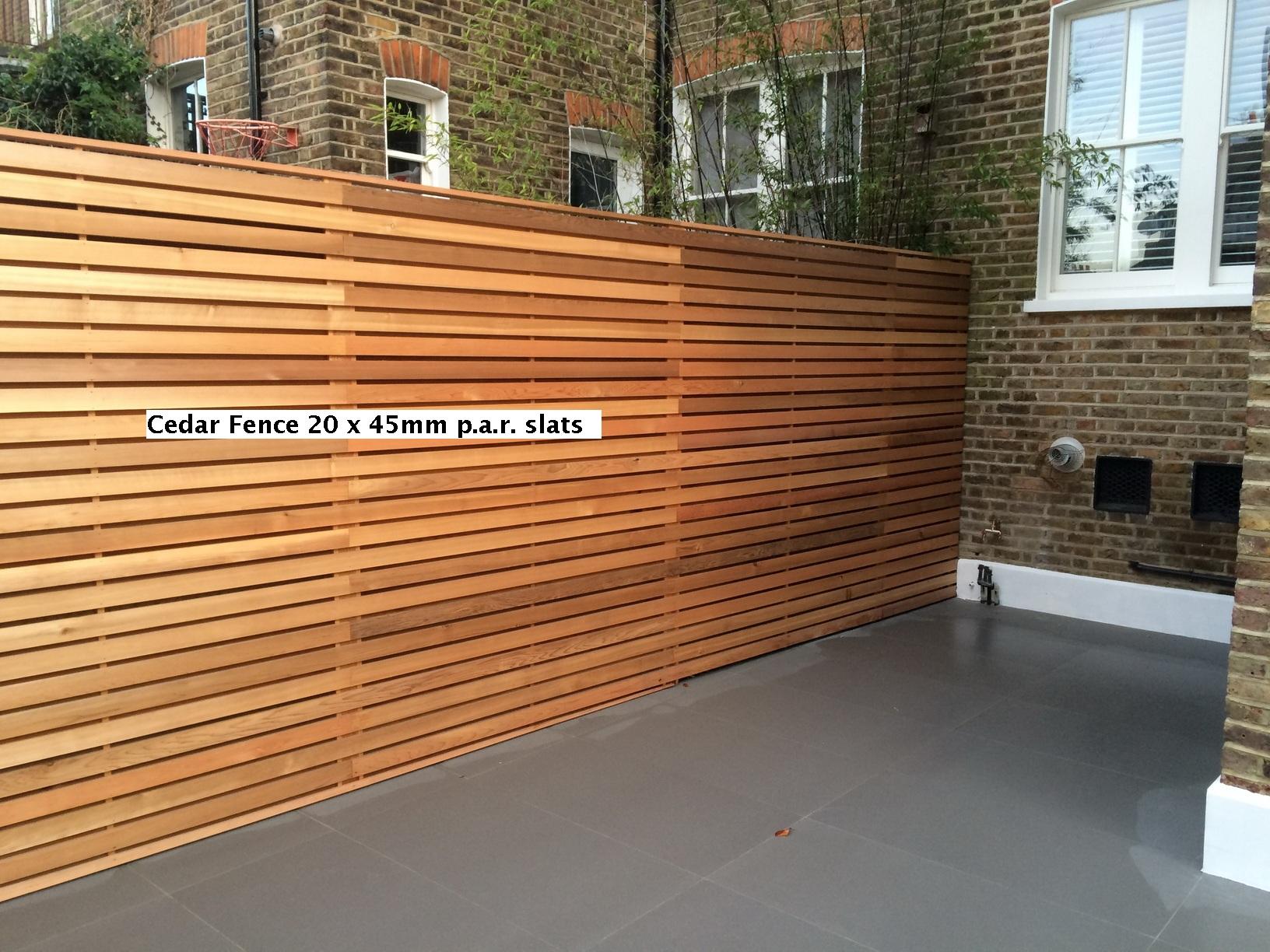 Western Red Cedar 20 X 45mm P A R Fencing Southgate