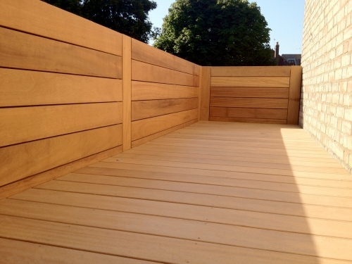 Iroko 20 X 140mm Smooth Double Southgate Timber