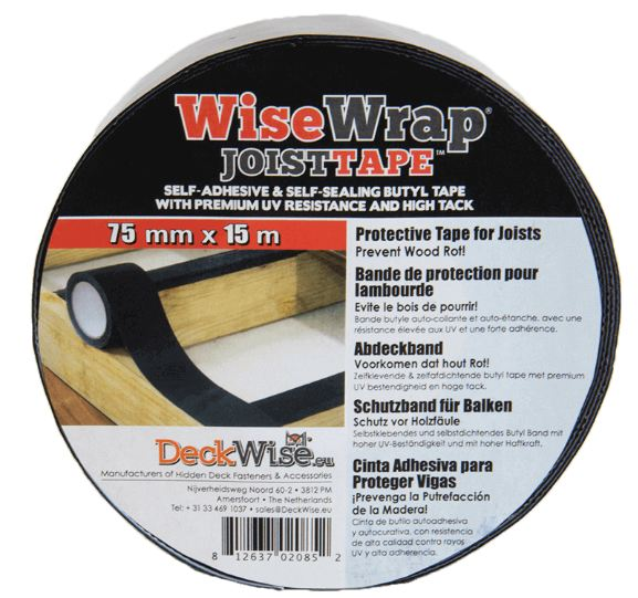 Deckwise Wrap Joist & Post Tape