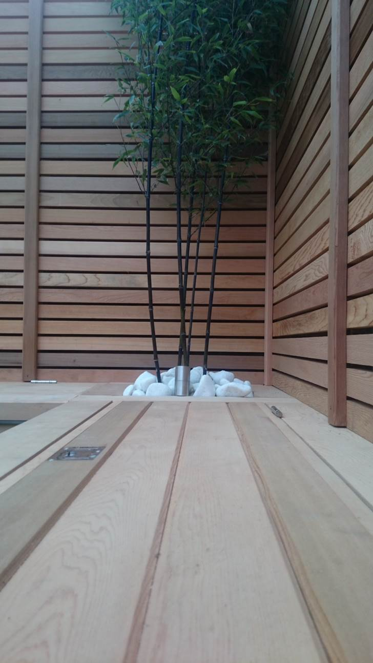 20 Timber Decking Designs That Can Append Beauty Of Your: Western Red Cedar 20 X 45mm P.A.R. Fencing