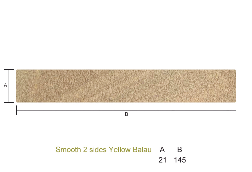 Y balau 21 x 145mm smooth 2 sides seconds southgate for Timber decking seconds