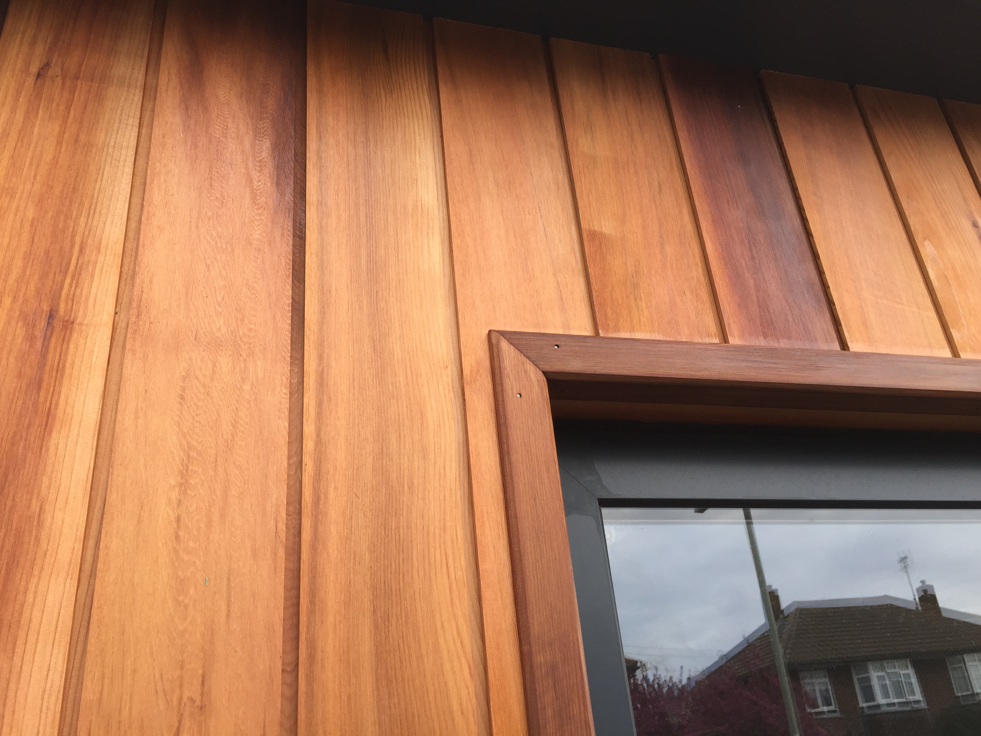 Western Red Cedar 45x45mm L Section